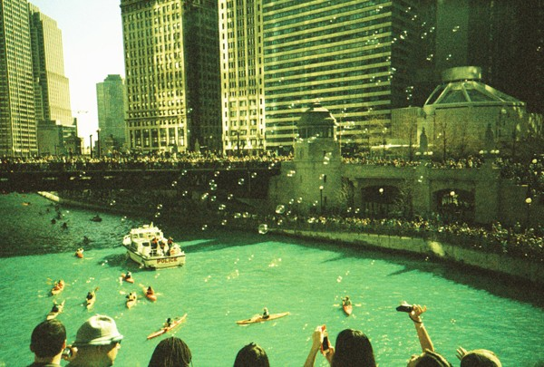 Untitled. Chicago River, March. By Jeremiah Loren, banker, Edgewater - JEREMIAH LOREN