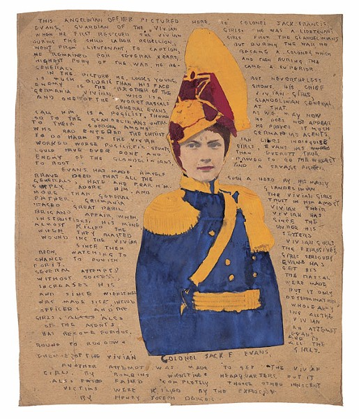 Untitled (Portrait of Colonel Jack Francis Evans) - © KIYOKO LERNER