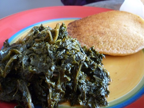 Vegetarian soul food at Yahs Cuisine, 2347 E. 75th.