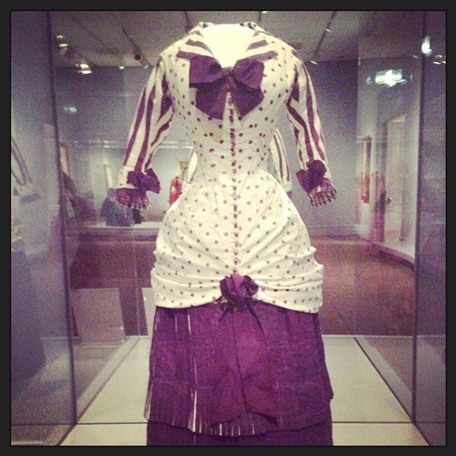 Very same dress worn by Madame Bartholomé in the painting.