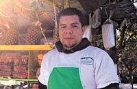Victor Mejia, the vendor