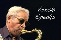 Vonski Speaks With His Tenor Saxophone