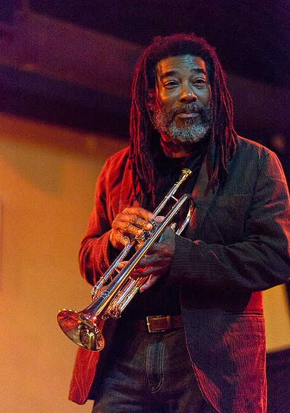 "Wadada Leo Smith, Günter ""Baby"" Sommer, November 7, Hungry Brain"