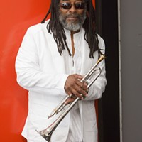 Trumpeter Wadada Leo Smith makes a rare local appearance Friday