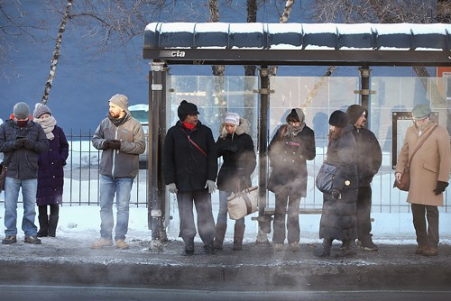 Waiting for a bus will soon be so much easier.