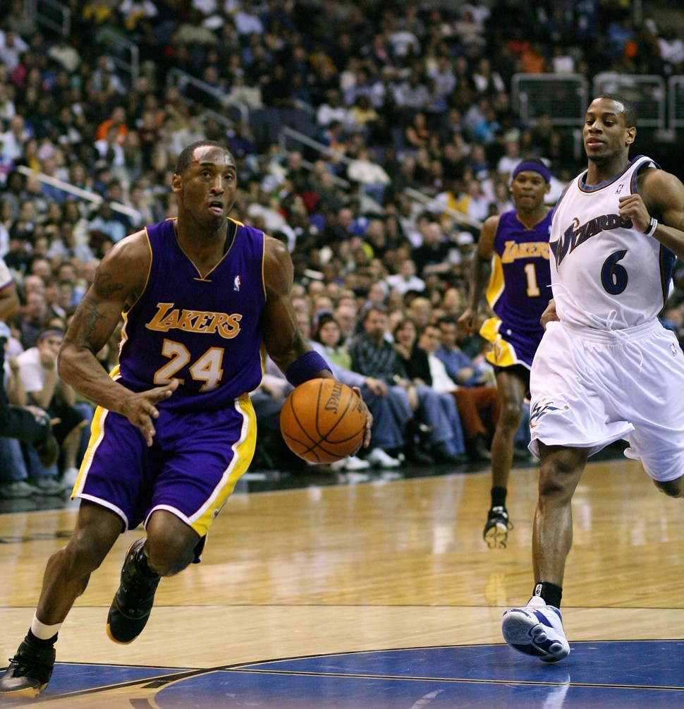 Watch that pivot foot, Kobe.