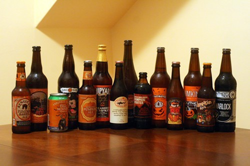 Way too many pumpkin beers