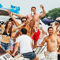 What lies at the bottom of the Playpen, Chicago's floating daytime clubland