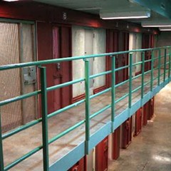 When death row and dog cages are a step up in the world