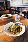 Whole-wheat pappardelle with lamb ragu at Madison's Nostrano