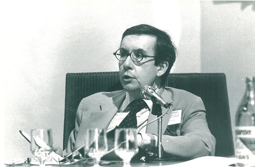 William Pfaff in 1984