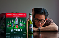 Beck's beer has never looked better