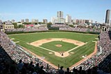 Wrigley Field - RON VESELY/MLB PHOTOS VIA GETTY IMAGES