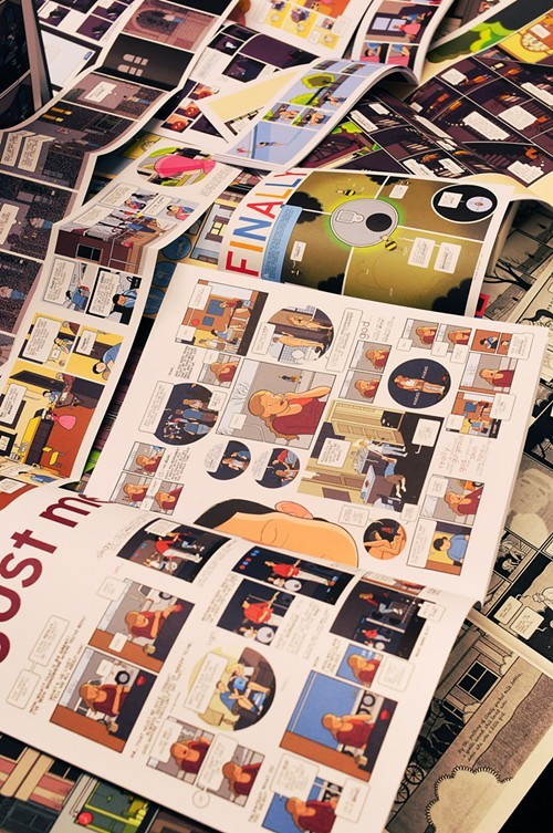You blow my mind, Chris Ware