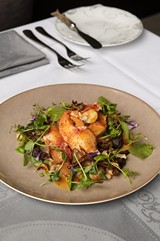 You may find yourself marveling at the freshness of the claw meat in the signature lobster Brindille. - ANDREA BAUER