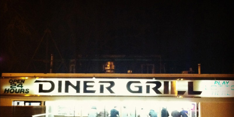 This photo of Diner Grill was shot this year, not forty years ago. The magic of Instagram!  Anjali Pinto; anjalipinto