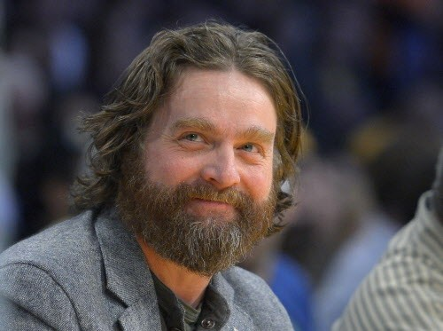 Zach Galifianakis (pictured) scored an Obama interview.