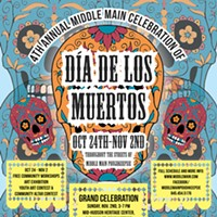 "4th Annual ""Day of the Dead"" Celebration Held in Poughkeepsie"