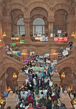 New Yorkers Against Fracking Slideshow