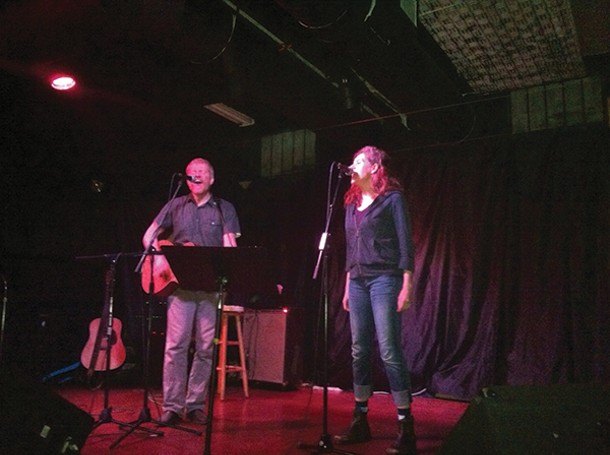 A. C. Newman with special guest Neko Case at BSP Lounge in Kingston on June 16.