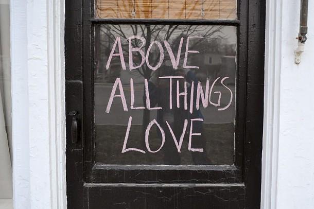 A doorway on Columbia Street in Hudson. - DAVID MORRIS CUNNINGHAM