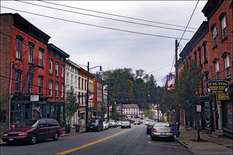 A view of Main Street in downtown Wappingers Falls. - AMBER S. CLARK