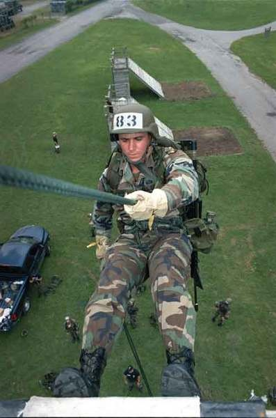 Air assault training.