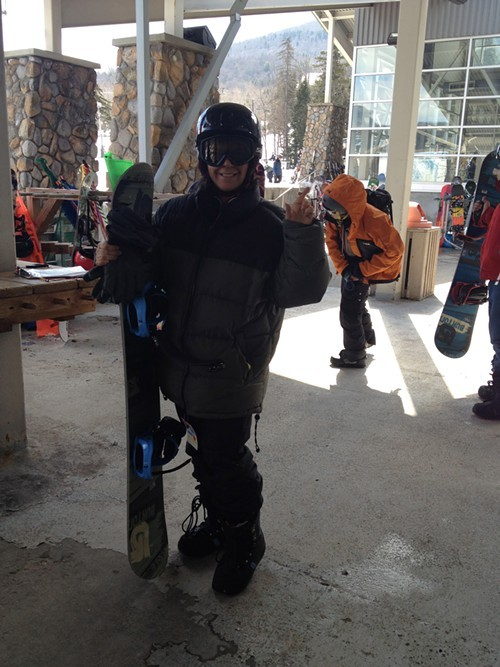 All geared up at The Learning Center at Hunter Mountain