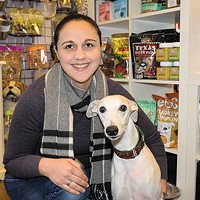 New Paltz, Highland, Milton, Marlboro Amanda Favoino and Bob at Paws of Distinction. David Morris Cunningham