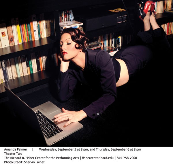 Amanda Palmer and the Grand Theft Orchestra perform at Bard's Fisher Center on September 5 and 6.