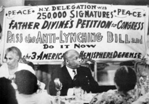 Among Father Divine's progressive causes was an anti-lynching bill, which was brought before Congress. - JENNIFER MAY