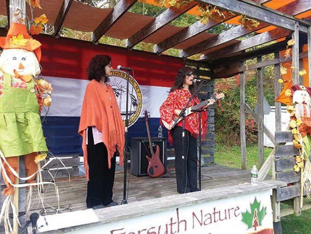 Amy Fradon and Friends performing at the Forsyth Nature Fest in Kingston on October 13. - WILLIAM MARCHETTI