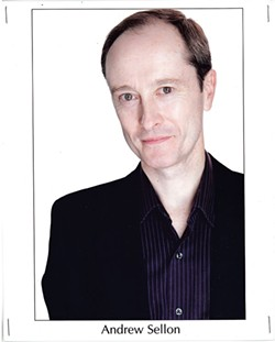 """Andrew Sellon takes on the role of Tesla in """"The Dangers of Electric Lighting."""""""