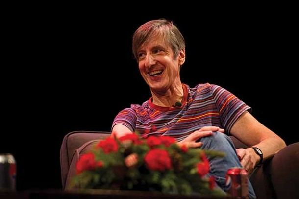Andy Borowitz during the WAMC event at the Bardavon on December 12. - WAMC/TOM WALL PHOTOGRAPHY