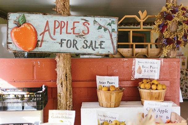 Apples for sale at Stone Ridge Orchards in Stone Ridge. - THOMAS SMITH