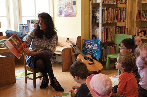 Author and musician Suzzy Roche reads at the 2nd Annual Read Local! Red Hook Literary Festival from April 12 to 14.