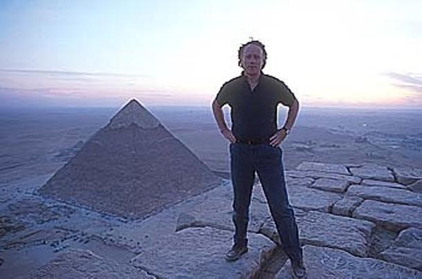 Author Graham Hancock