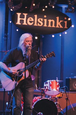 Azim Goldrich at Helsinki in Hudson. - THOMAS SMITH