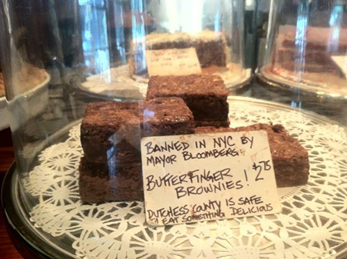 Banned Brownies at Matchbox Cafe