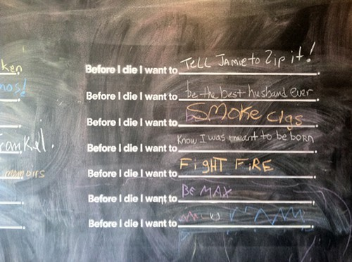 Before I Die project at Oriole 9 in Woodstock