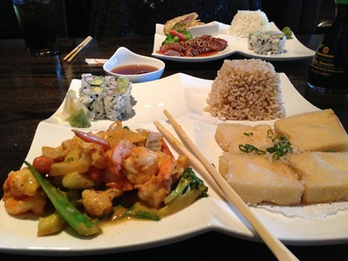 Bento Box Lunch Specials at Kodomo Asian Bistro