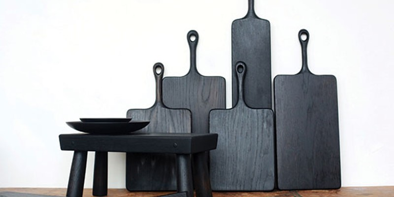 Well-Spent: The Sustainable Edition Blackcreek Mercantile and Trading Co.'s Blackline serving boards (starting at $175).