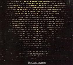 BlackNGold, Pet the Lights, 2012, 5 Star Musique