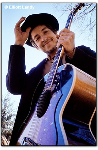 Bob Dylan on the cover of the 1969 album Nashville Skyline