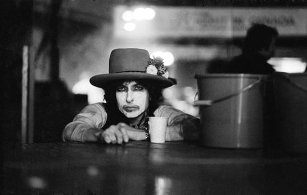 Bob Dylan, Rolling Thunder Tour, 1975, © Ken Regan