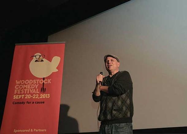 Bobcat Goldthwait at the Woodstock Comedy Festival on 9/21.
