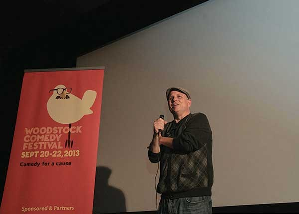 Bobcat Goldthwait at the Woodstock Comedy Festival on 9/21.