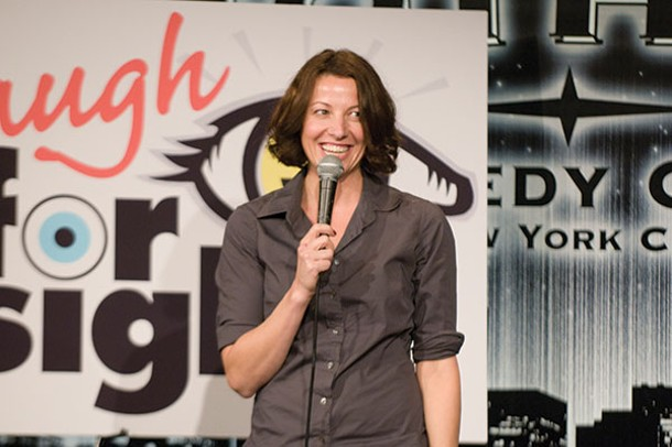 Bonnie McFarlane will perform at Sugarloaf Performing Arts Center on April 10.