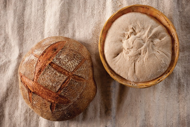 "Bread from the oven of William Alexander, author of the upcoming book ""52 Loaves."" - JENNIFER MAY"