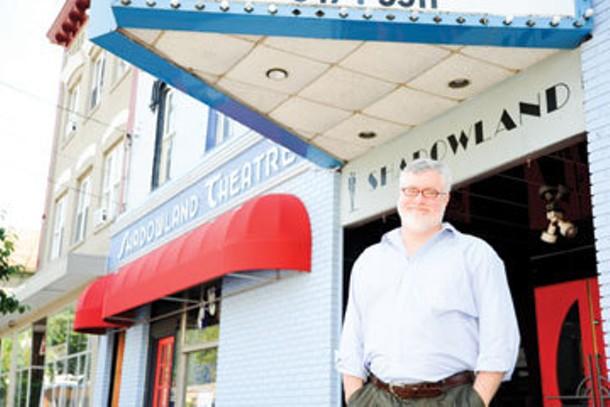 Brendan Burke, artistic director of the Shadowland Theater in Ellenville.